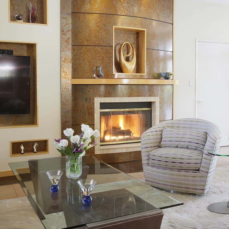 Interior Design Palos Verdes and The South Bay Fire Place